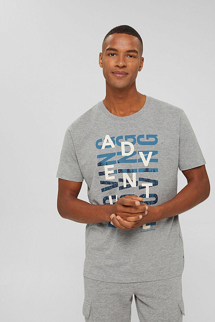 T-Shirts Regular Fit, MEDIUM GREY, detail image number 0