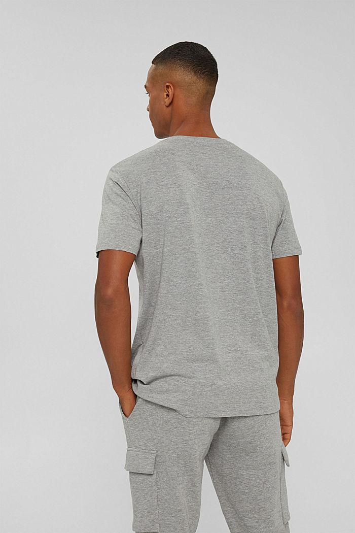 T-Shirts Regular Fit, MEDIUM GREY, detail image number 3