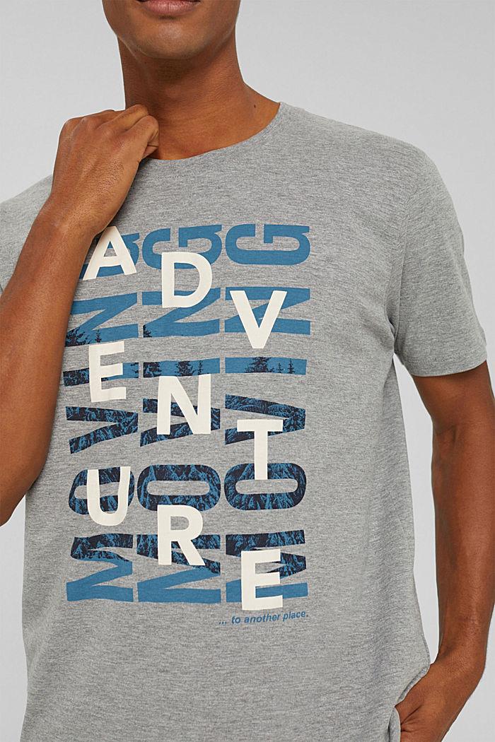 T-Shirts Regular Fit, MEDIUM GREY, detail image number 1