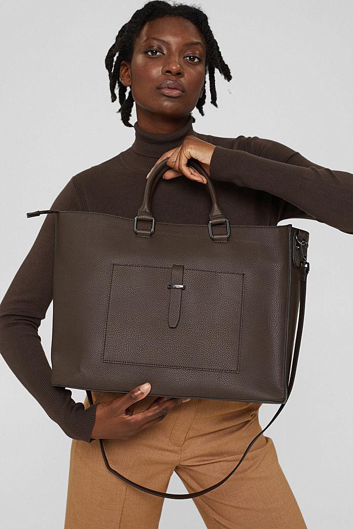 Bags, DARK BROWN, detail image number 6