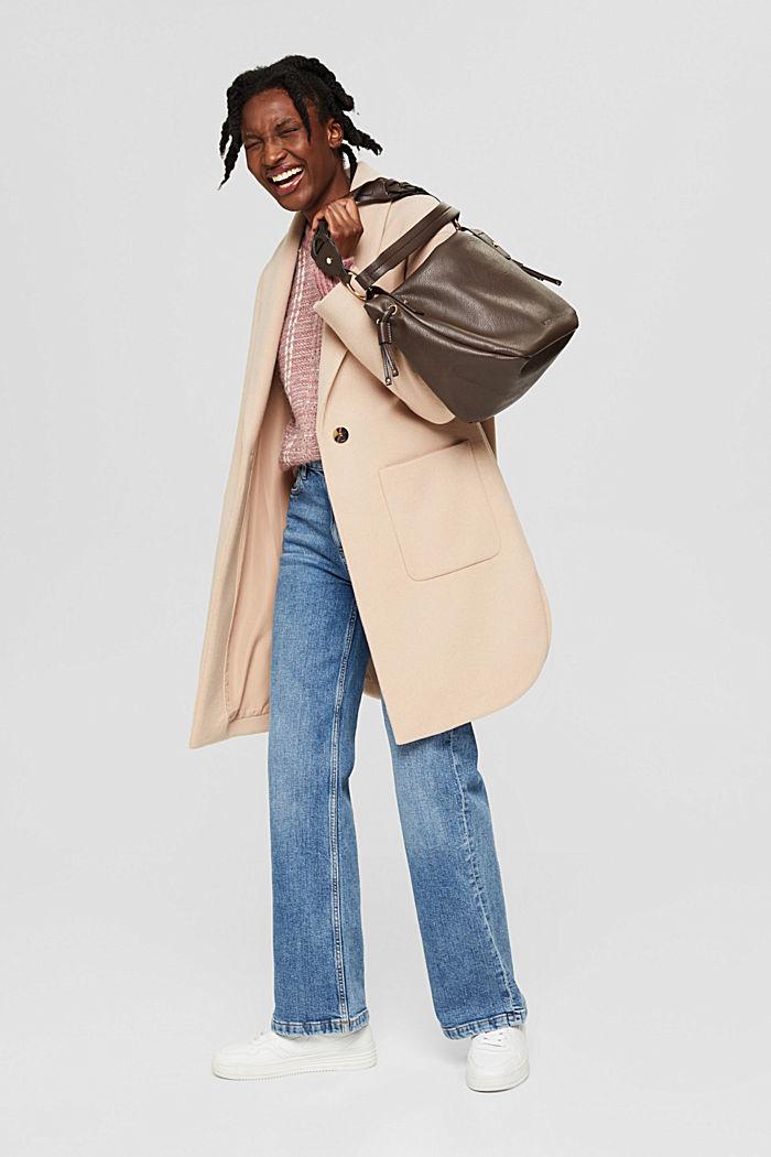 Bags, DARK BROWN, detail image number 5