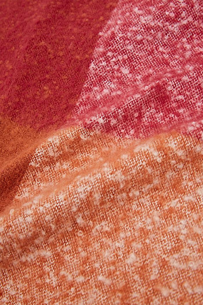 Shawls/Scarves, DARK PINK, detail image number 2