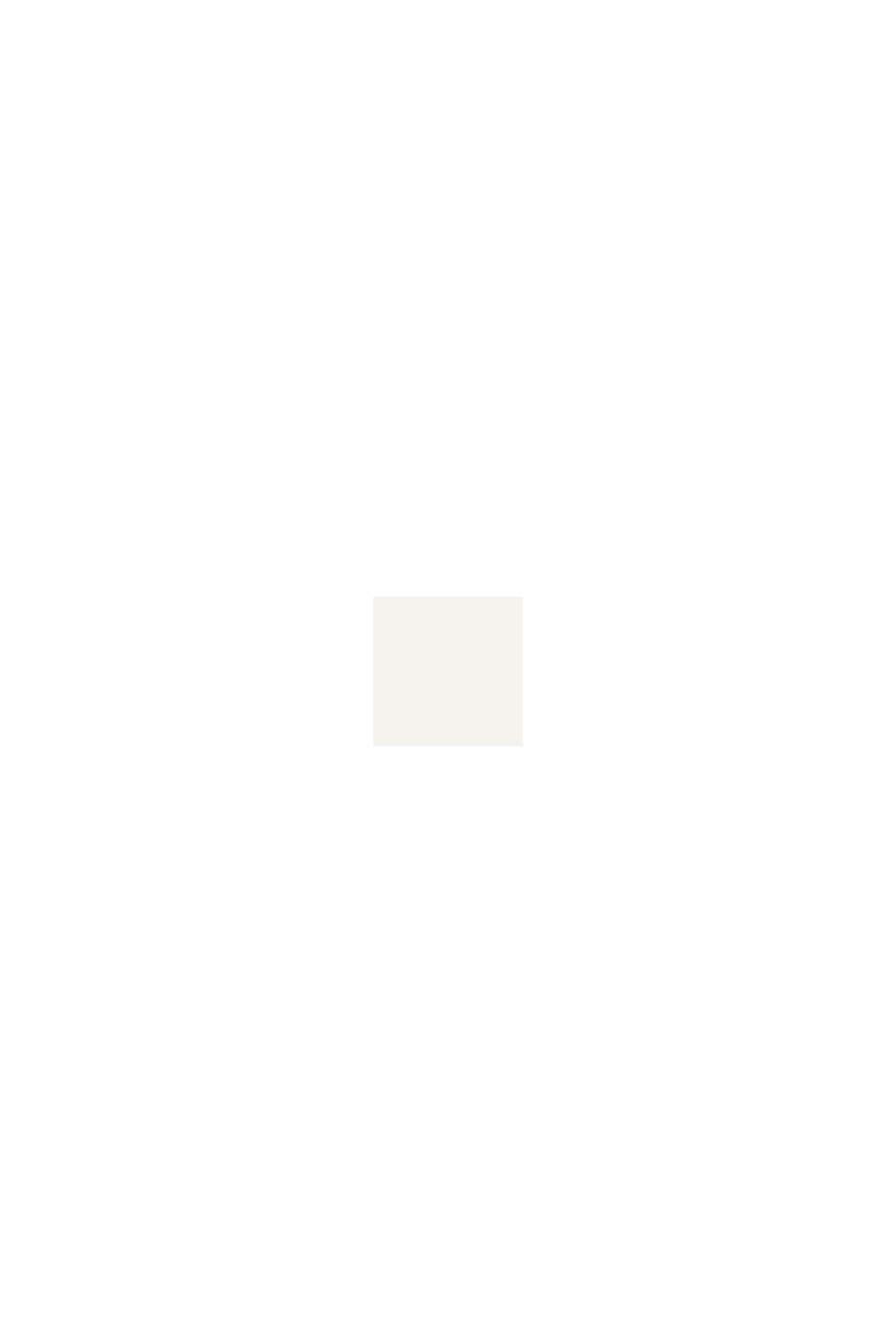 Mit Wolle/Alpaka: Poncho aus Zopfstrick, OFF WHITE, swatch