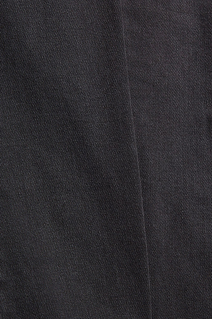 Stretchjeans met LENZING™ ECOVERO™, BLACK DARK WASHED, detail image number 4