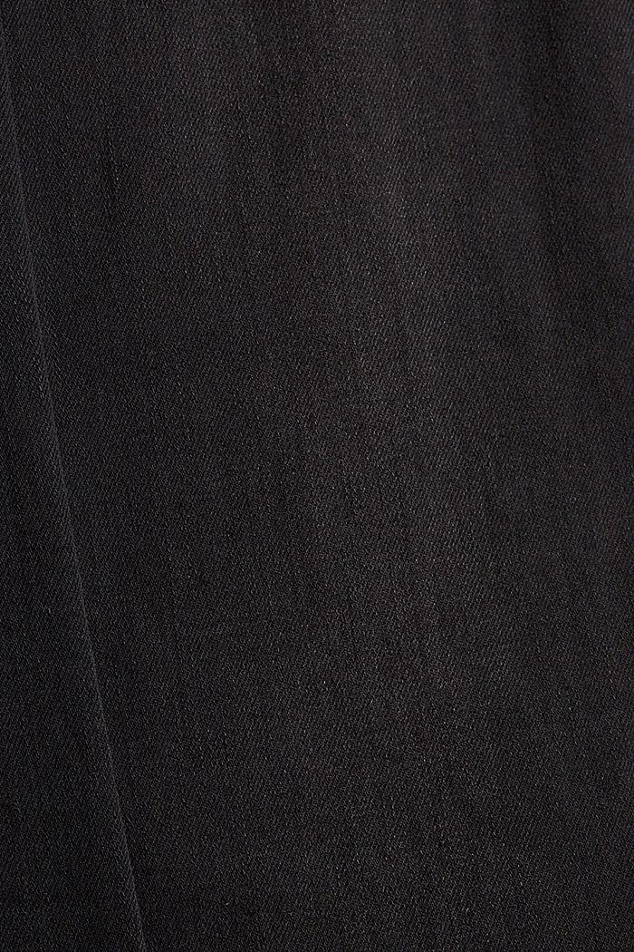 Jean stretch à teneur en coton biologique, BLACK DARK WASHED, detail image number 4