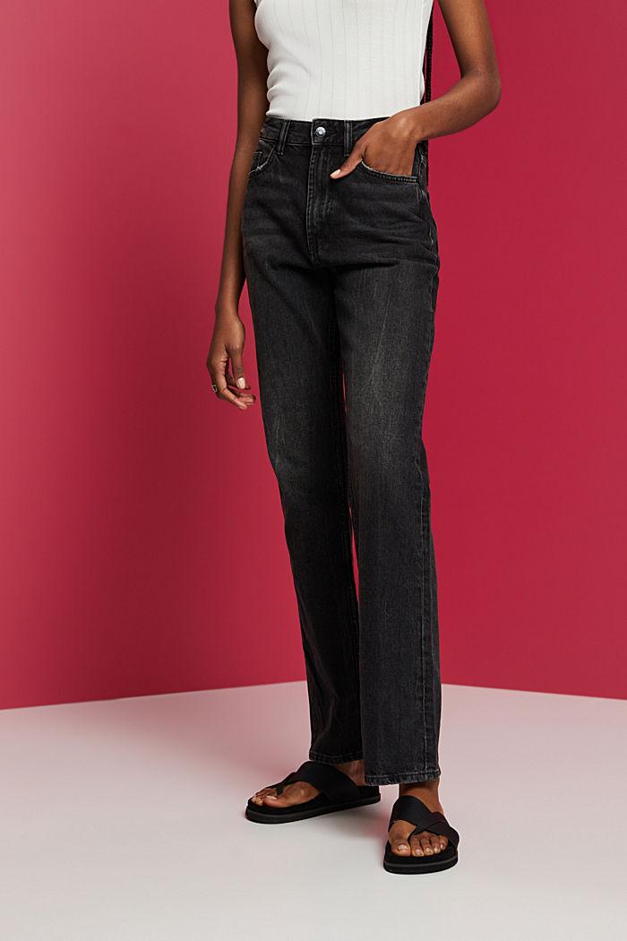 Pants denim, BLACK DARK WASHED, detail image number 0