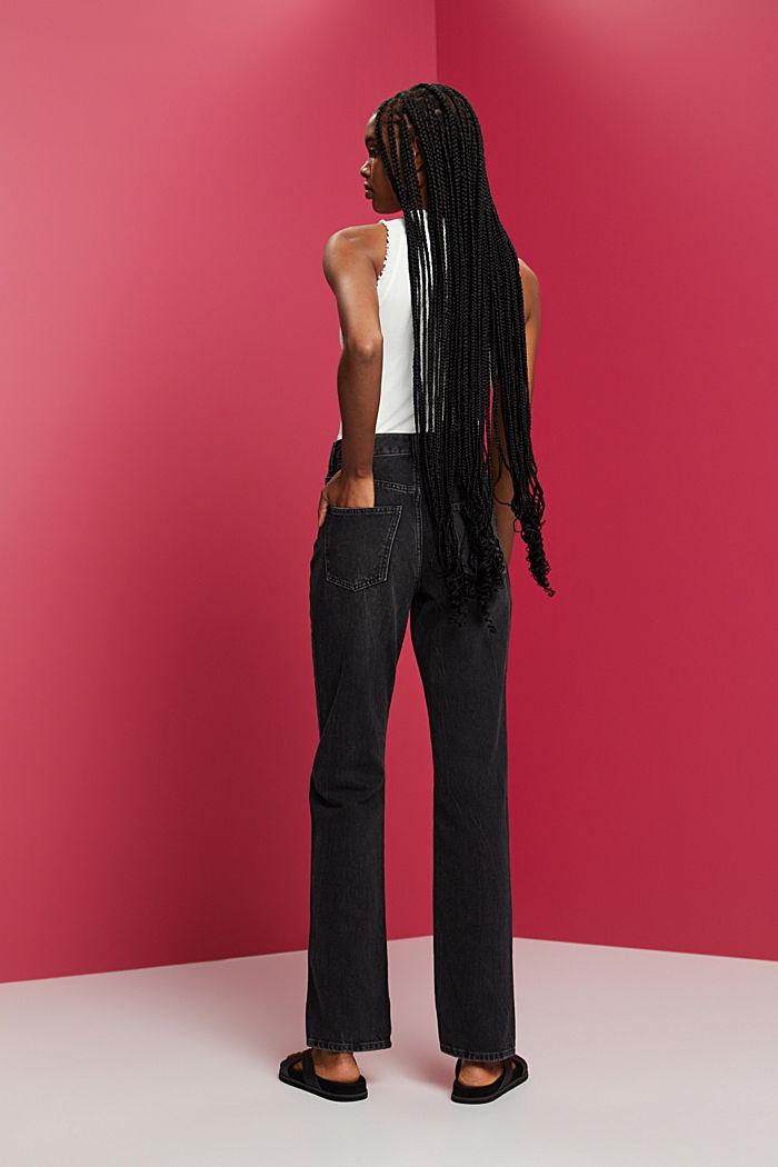 Pants denim, BLACK DARK WASHED, detail image number 3