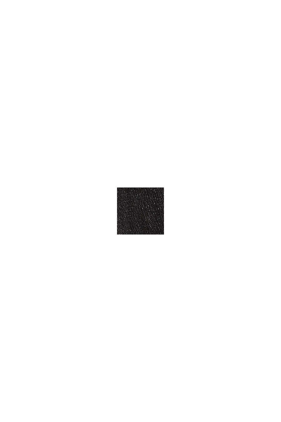 Jeggings en coton bio, BLACK DARK WASHED, swatch
