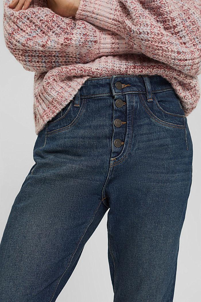 Pants denim, BLUE DARK WASHED, detail image number 2