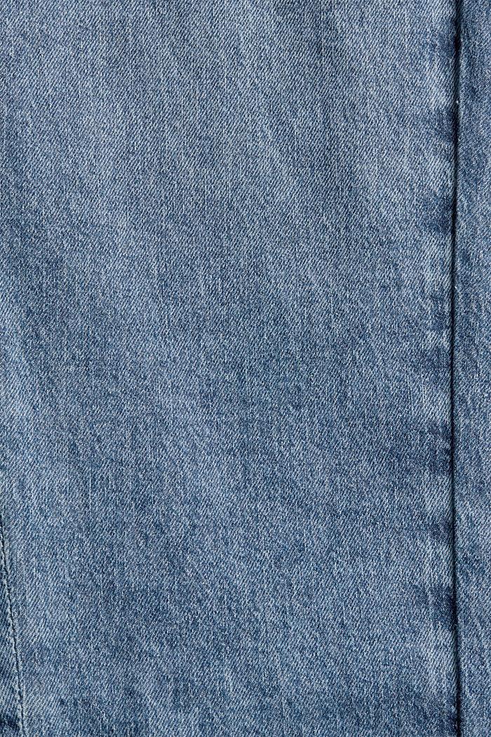 Jeans mit Gummibund aus Bio-Baumwoll-Mix, BLUE MEDIUM WASHED, detail image number 4