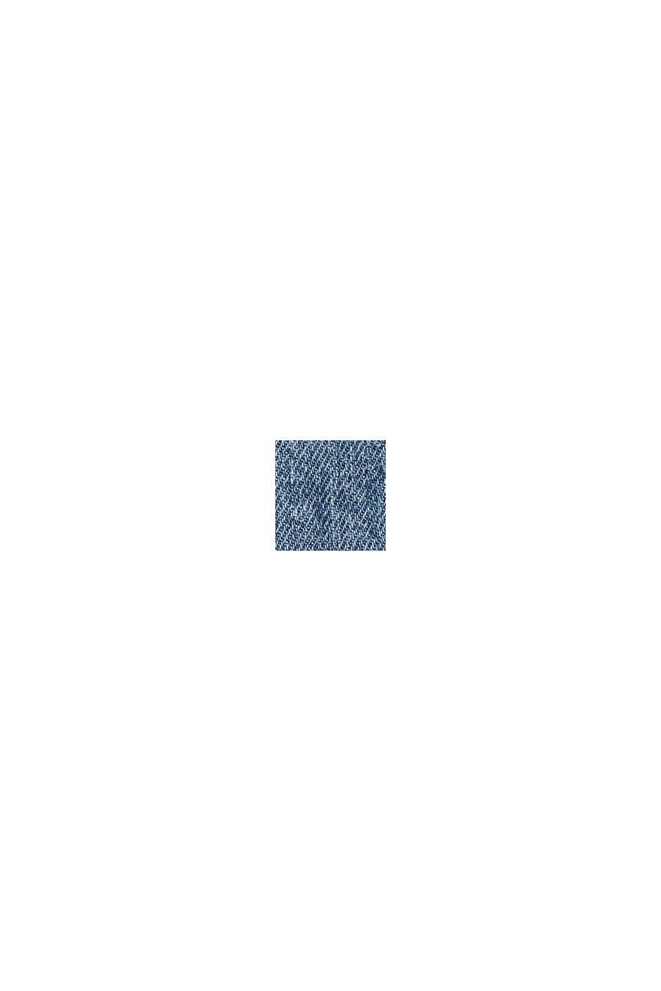 Jeans af økologisk bomuldsblanding med elastiklinning, BLUE MEDIUM WASHED, swatch