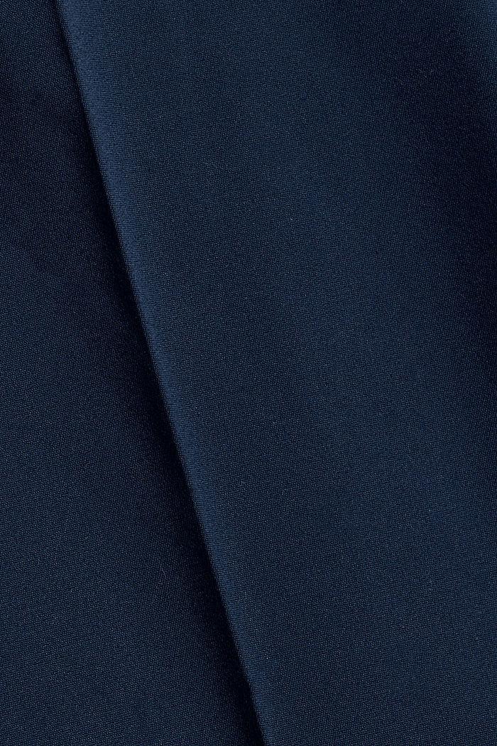 Elegante Chino-Hose aus Baumwoll-Mix, NAVY, detail image number 4