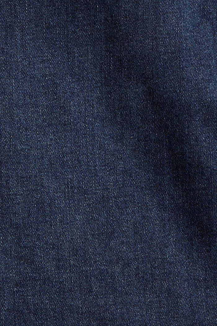Stretch-Jeans mit Organic Cotton, BLUE DARK WASHED, detail image number 4