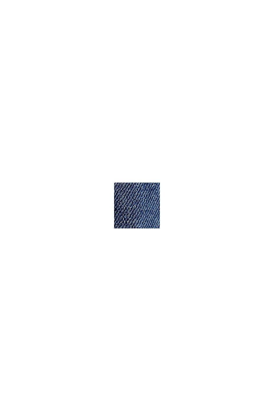 Stretchjeans med ekologisk bomull, BLUE MEDIUM WASHED, swatch