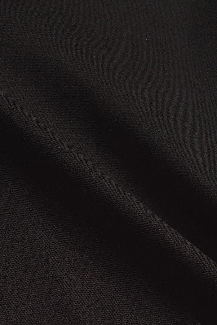 Robe évasée en jersey, LENZING™ ECOVERO™, BLACK, detail image number 5