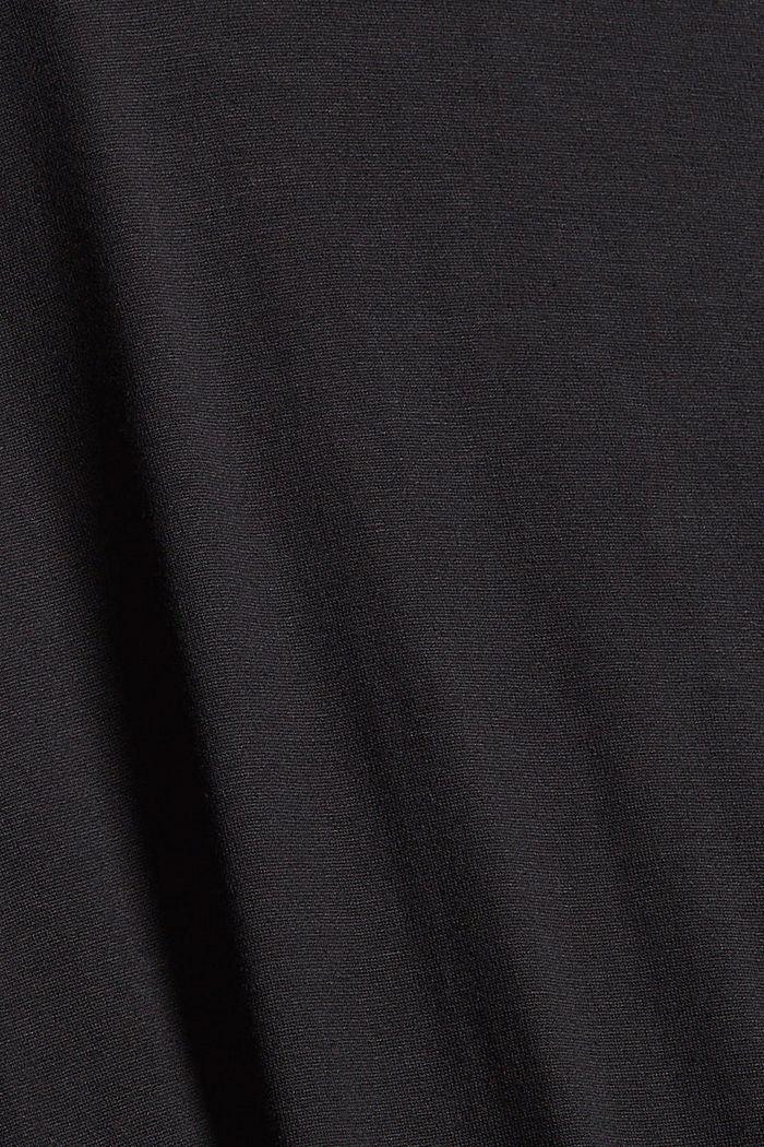 Robe en maille, BLACK, detail image number 4