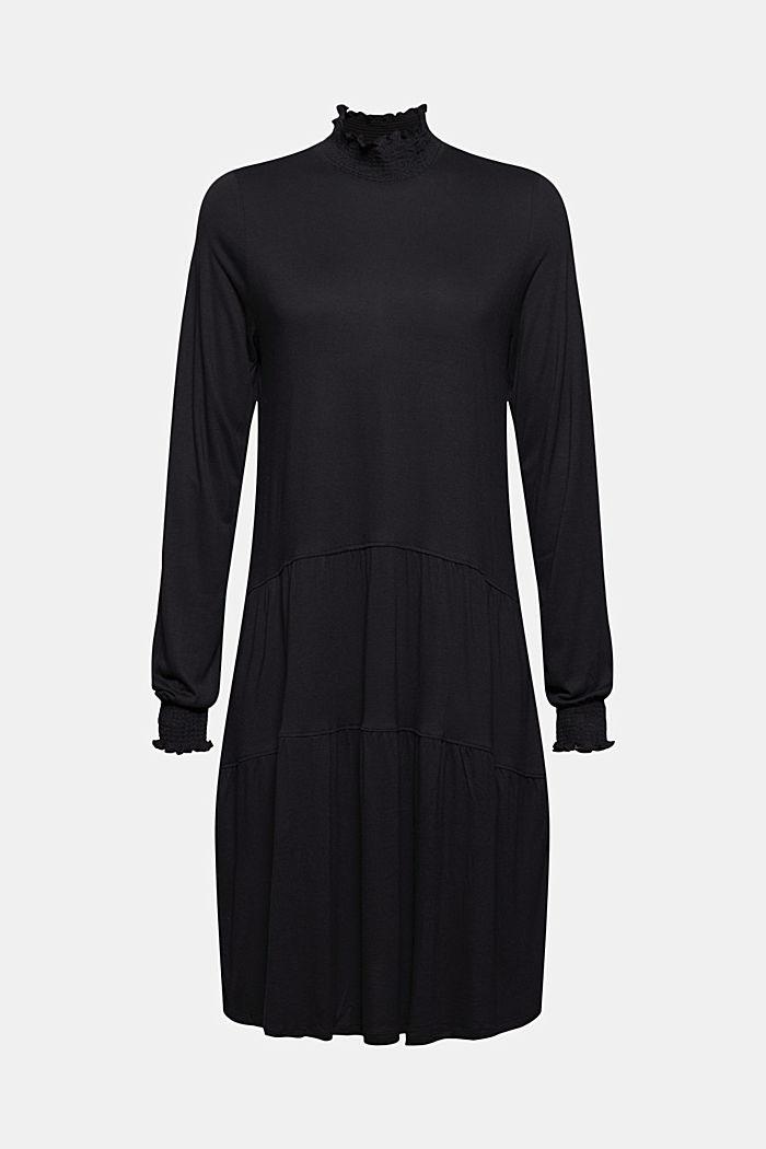 Robe en maille, BLACK, detail image number 7