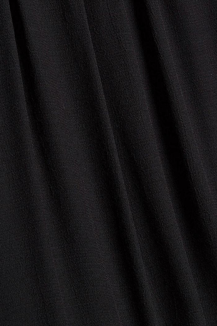 Kleid mit Rüschen und Volants, BLACK, detail image number 4