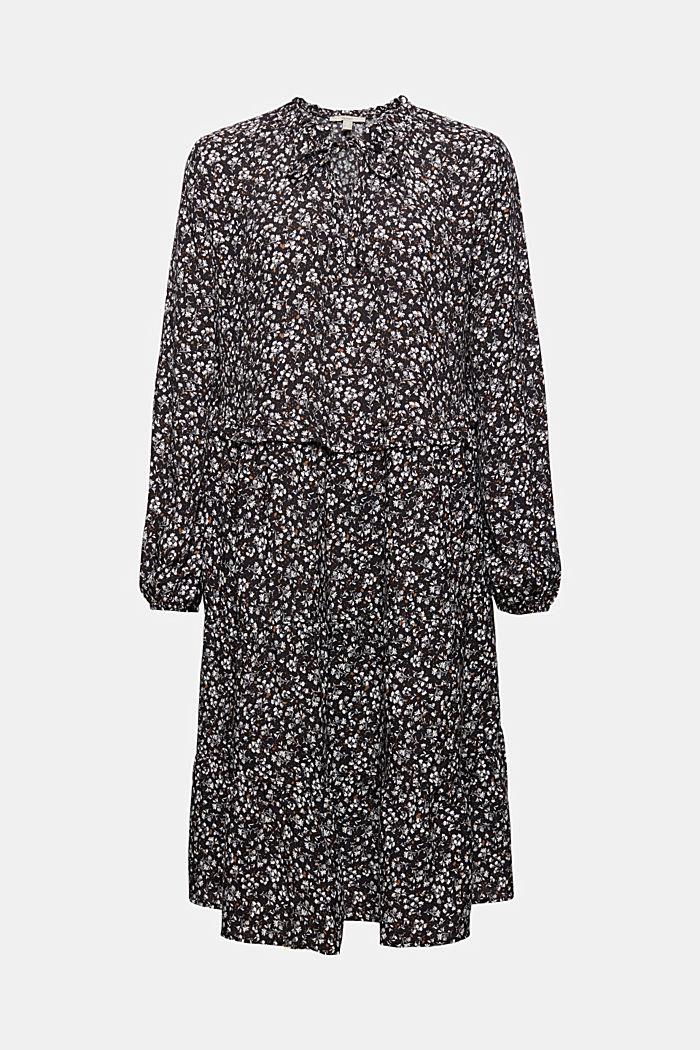 Weites Millefleurs-Kleid mit LENZING™ ECOVERO™