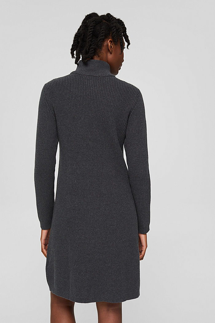 Dresses flat knitted, ANTHRACITE, detail image number 2