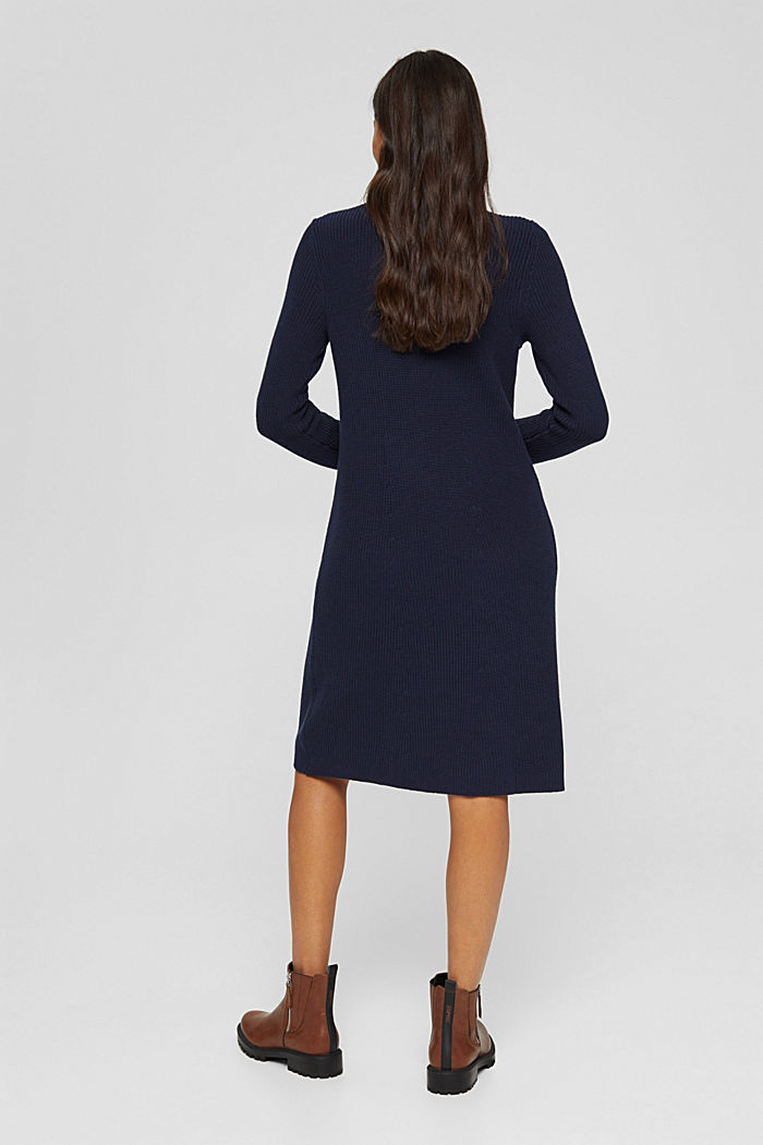 Dresses flat knitted, NAVY, detail image number 2