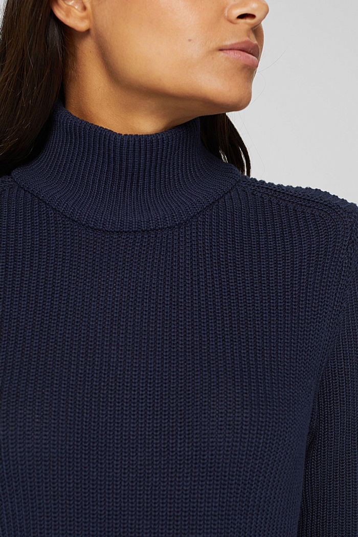 Dresses flat knitted, NAVY, detail image number 3