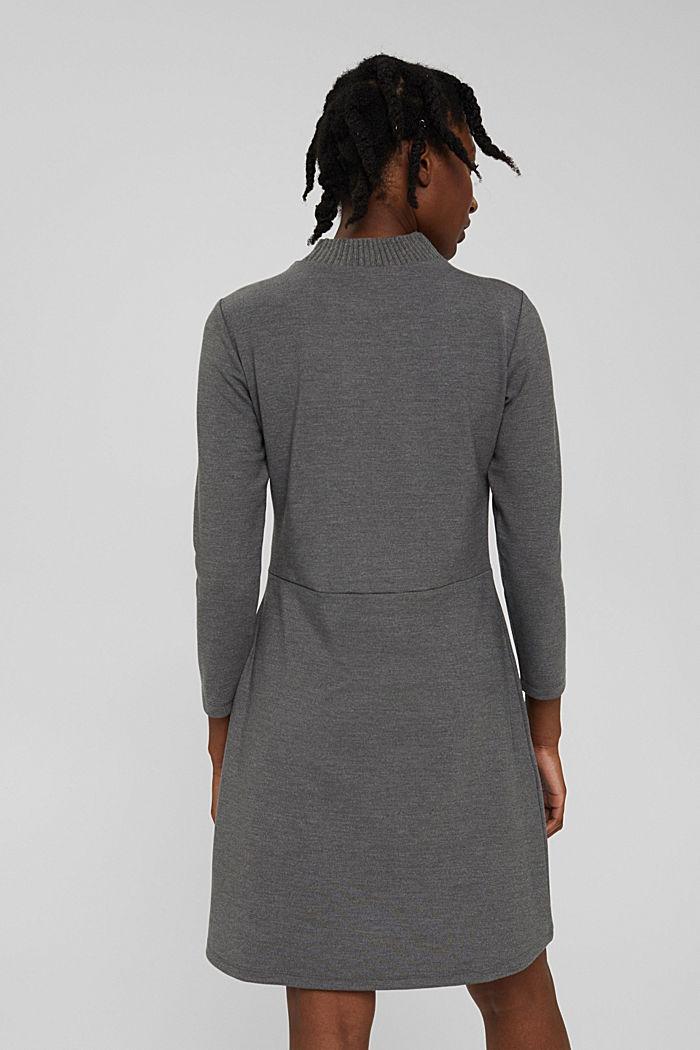 Dresses knitted, GUNMETAL, detail image number 2