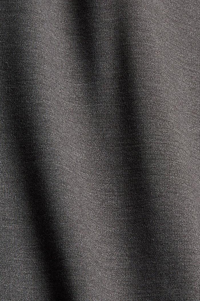 Dresses knitted, GUNMETAL, detail image number 4