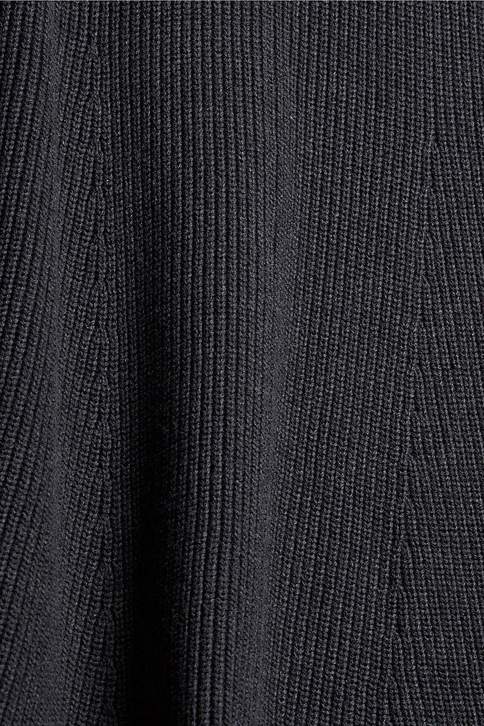 Dresses flat knitted, ANTHRACITE, detail image number 1