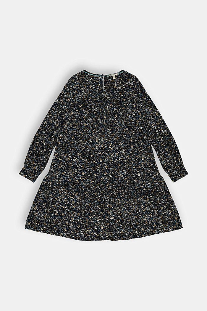 Dresses light woven, BLACK COLORWAY, detail image number 0
