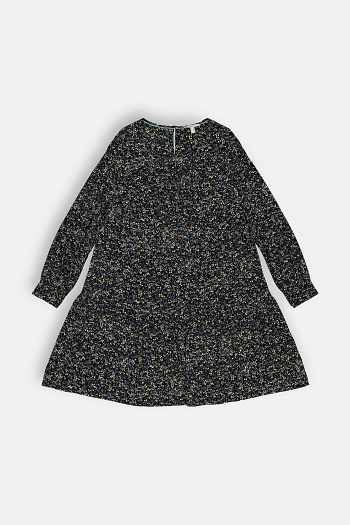 Dresses light woven, BLACK COLORWAY, detail image number 2