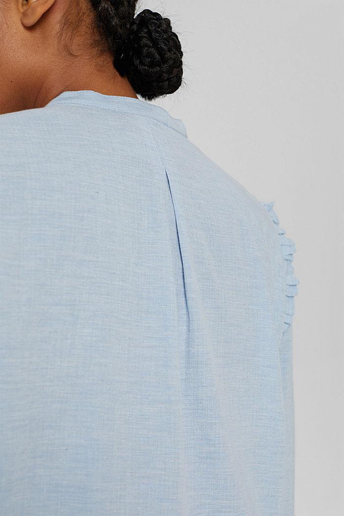 Blouses woven, LIGHT BLUE LAVENDER, detail image number 5