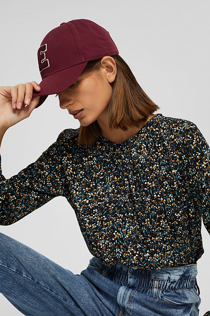 Mille-fleurs blouse with LENZING™ ECOVERO™