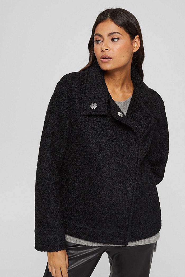 Jackets indoor woven, BLACK, detail image number 0