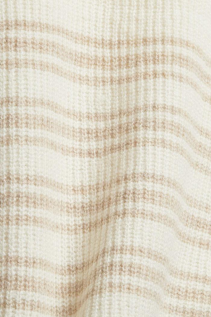Mit Wolle/Alpaka: ärmelloser Troyer, OFF WHITE, detail image number 4