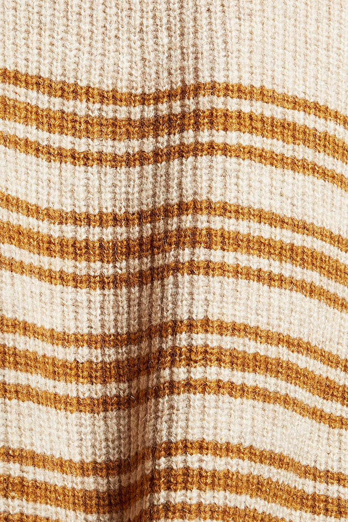 Mit Wolle/Alpaka: ärmelloser Troyer, SAND, detail image number 4