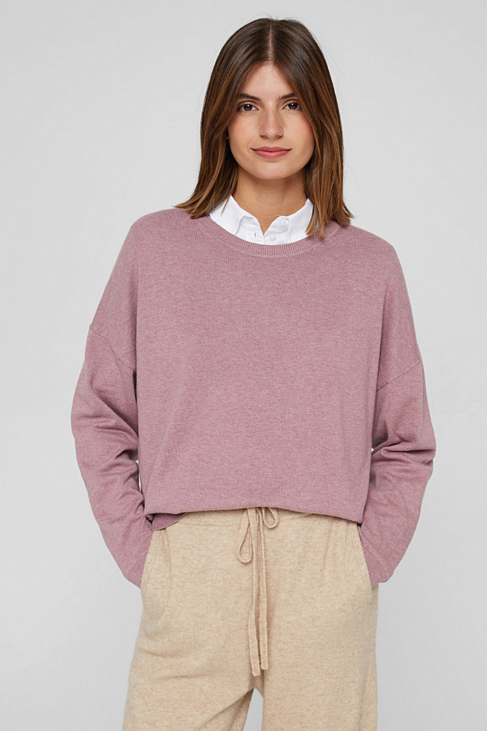 Sweaters, MAUVE, detail image number 0