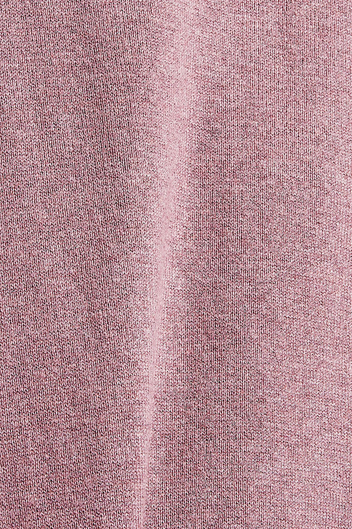 Sweaters, MAUVE, detail image number 4