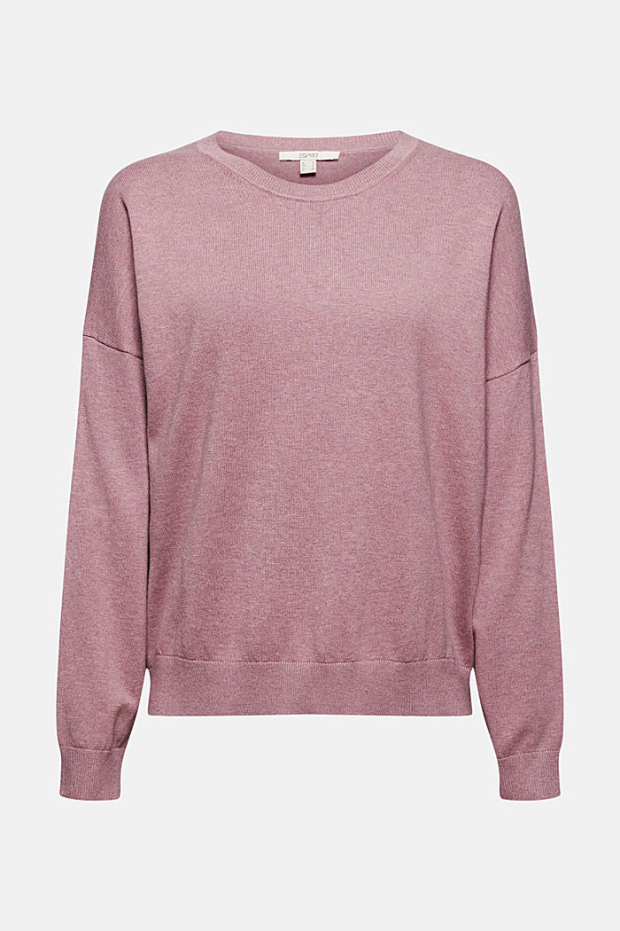 Sweaters, MAUVE, detail image number 7