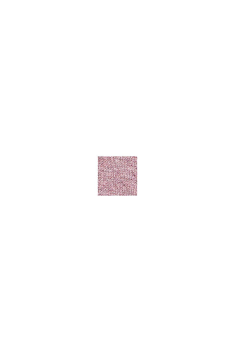 Pullover aus Bio-Baumwoll-Mix, MAUVE, swatch