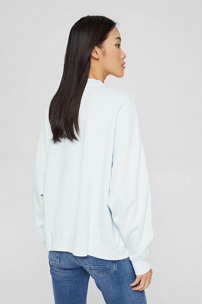 Sweatshirts, LIGHT TURQUOISE, detail image number 3