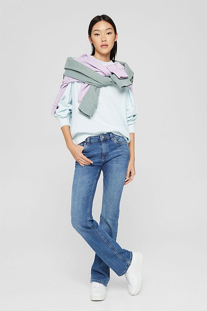 Sweatshirts, LIGHT TURQUOISE, detail image number 6