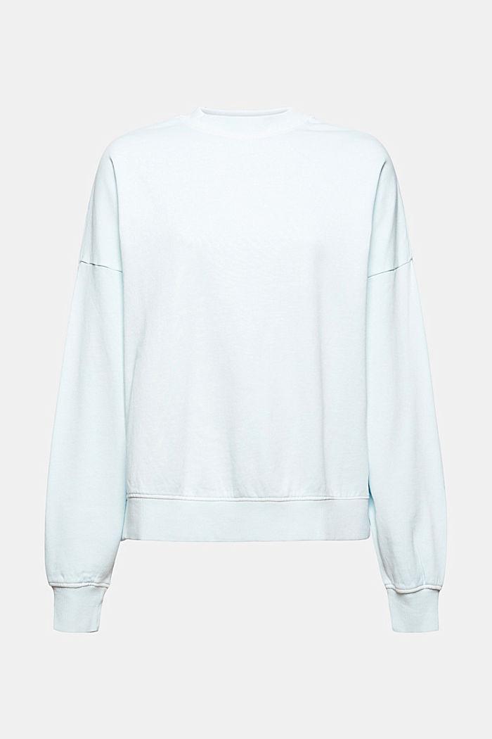 Sweatshirts, LIGHT TURQUOISE, detail image number 7