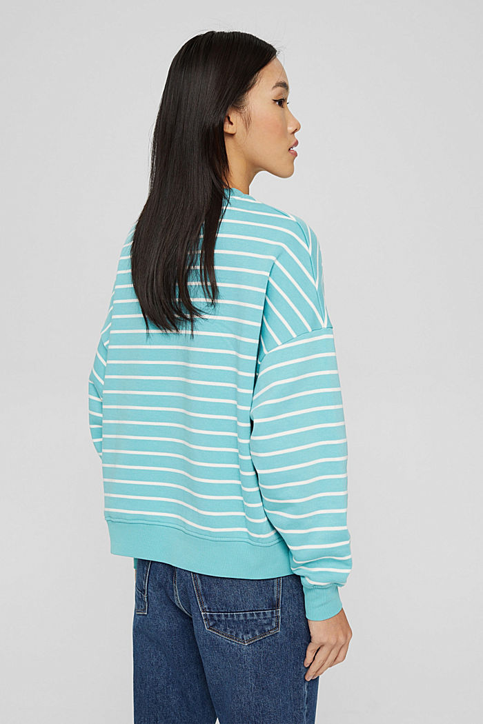 Sweatshirts, TURQUOISE, detail image number 3