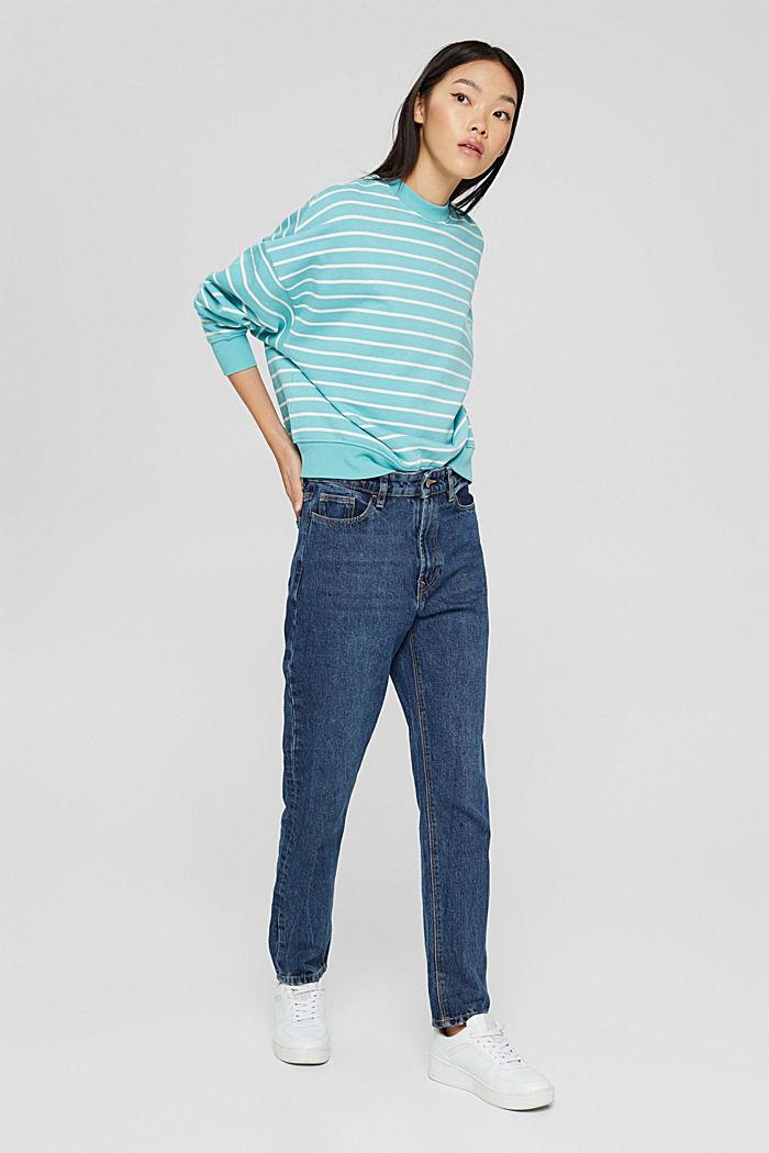 Sweatshirts, TURQUOISE, detail image number 1