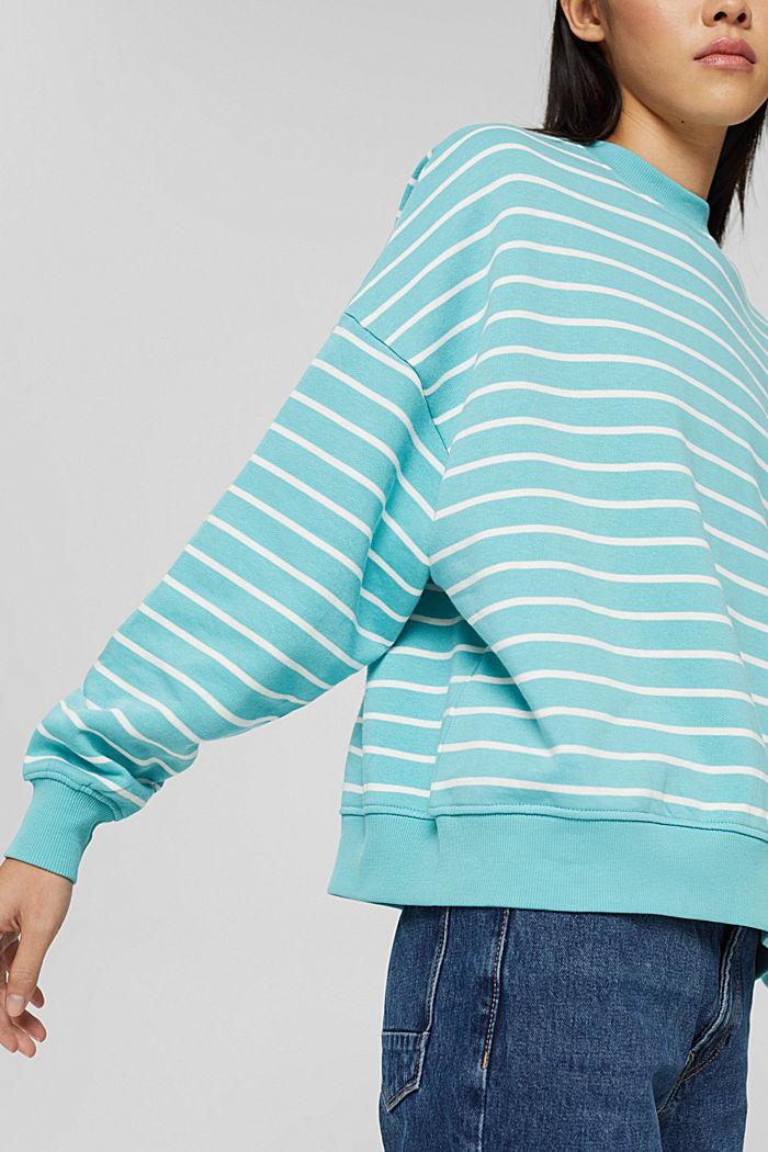 Sweatshirts, TURQUOISE, detail image number 2