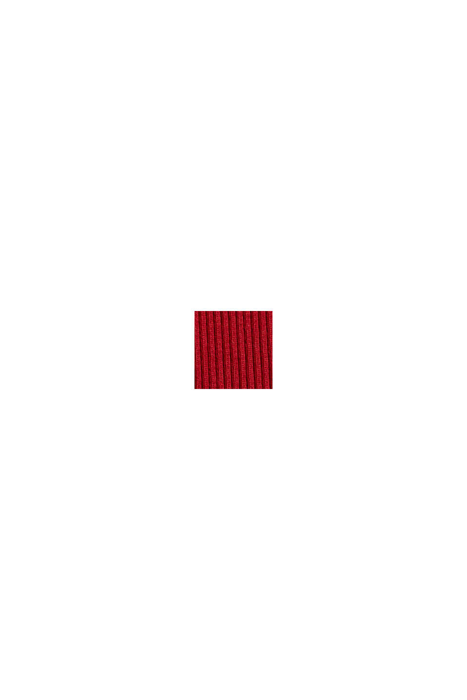 Fashion T-Shirt, DARK RED, swatch