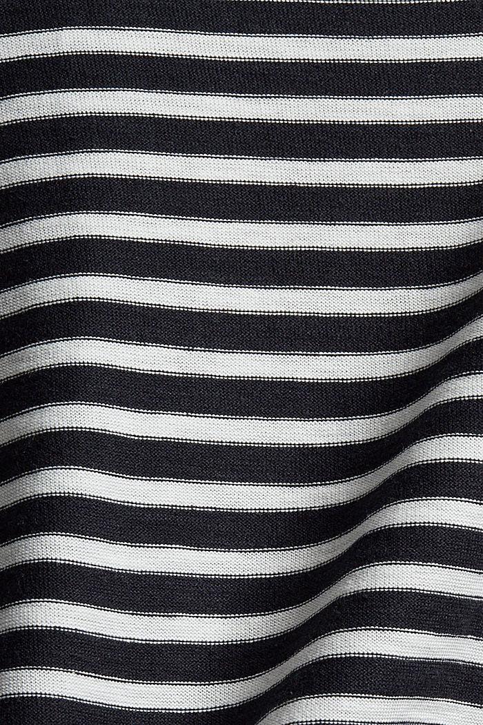 Streifen-Longsleeve aus 100% Bio-Baumwolle, BLACK, detail image number 4