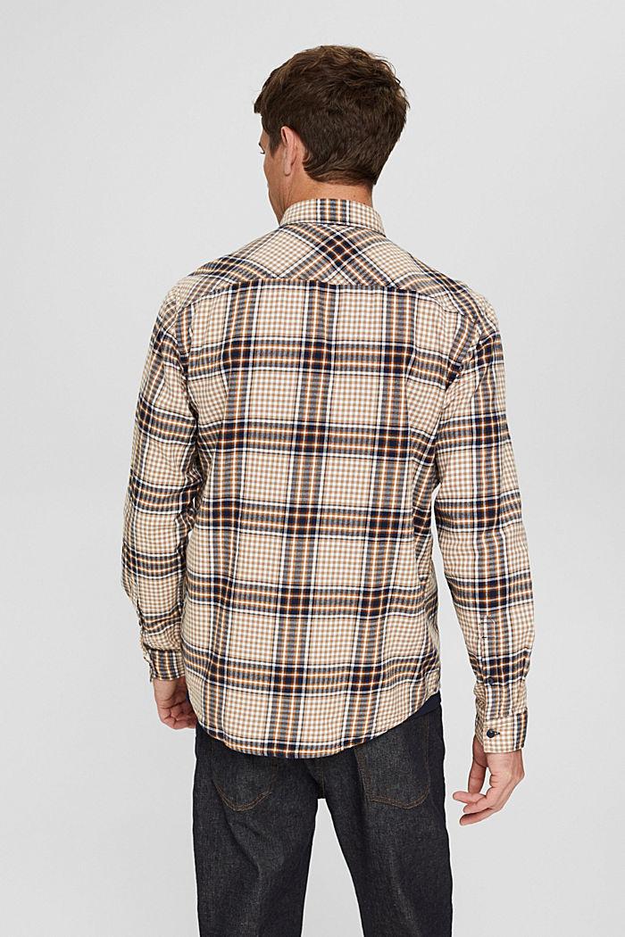 Shirts woven Regular Fit, CAMEL, detail image number 3
