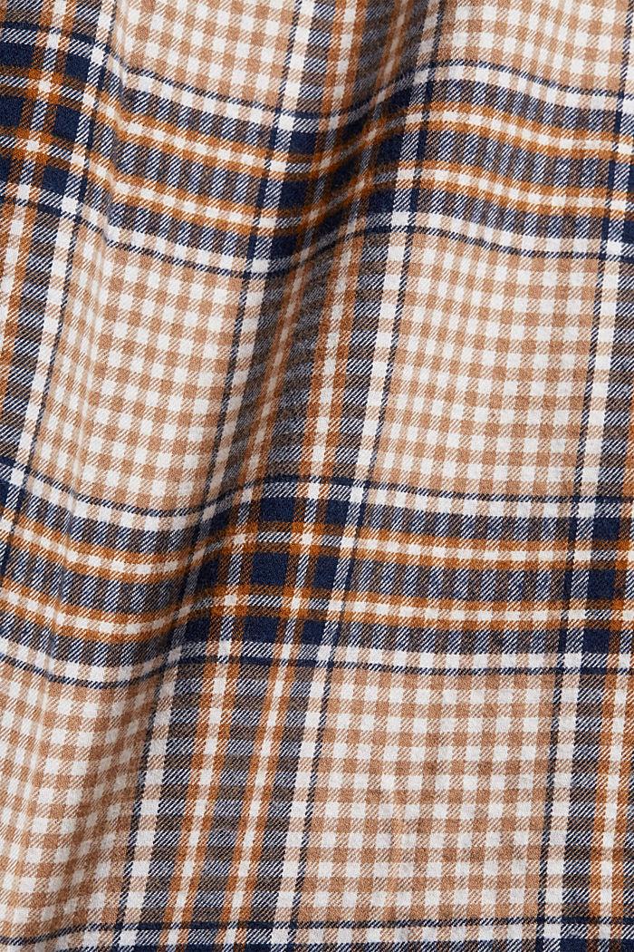 Shirts woven Regular Fit, CAMEL, detail image number 4